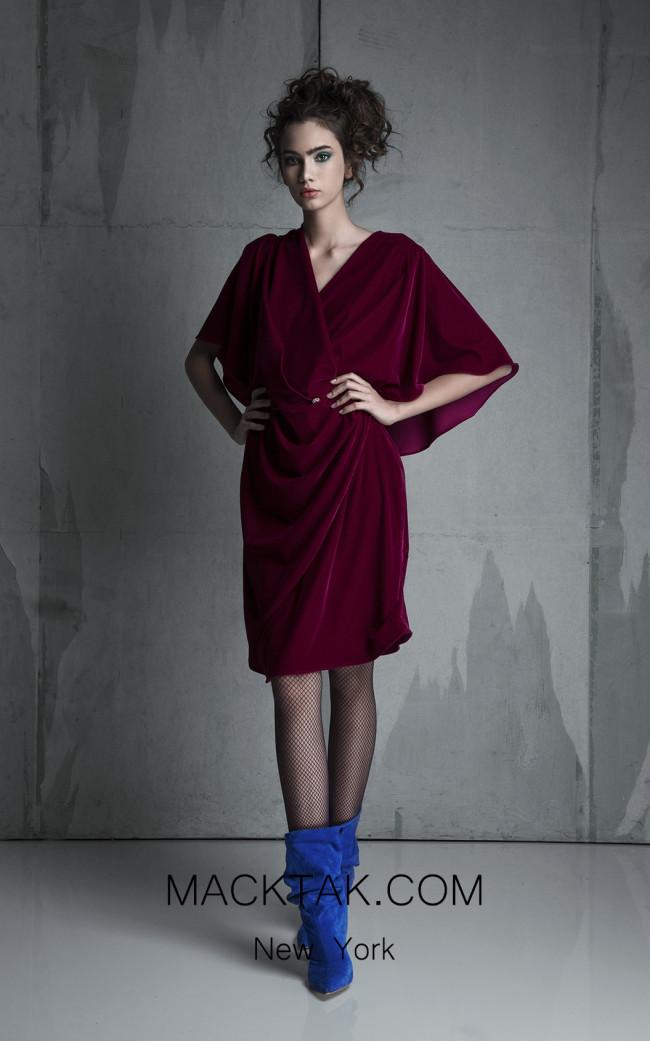 La Mode Toujours Lea Front Evening Dress