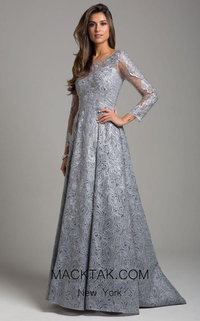 Lara 29925 Slate Front Dress