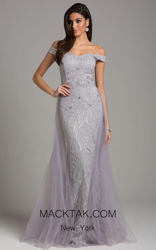 Lara 29934 Dusty Purple Front Dress