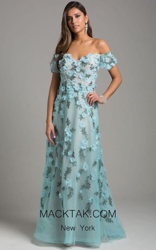 Lara 29951 Blue Front Dress