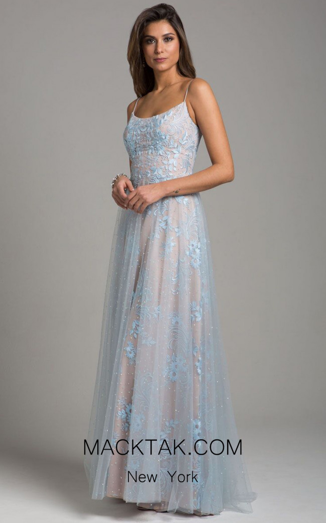Lara 29962 Light Blue Front Dress