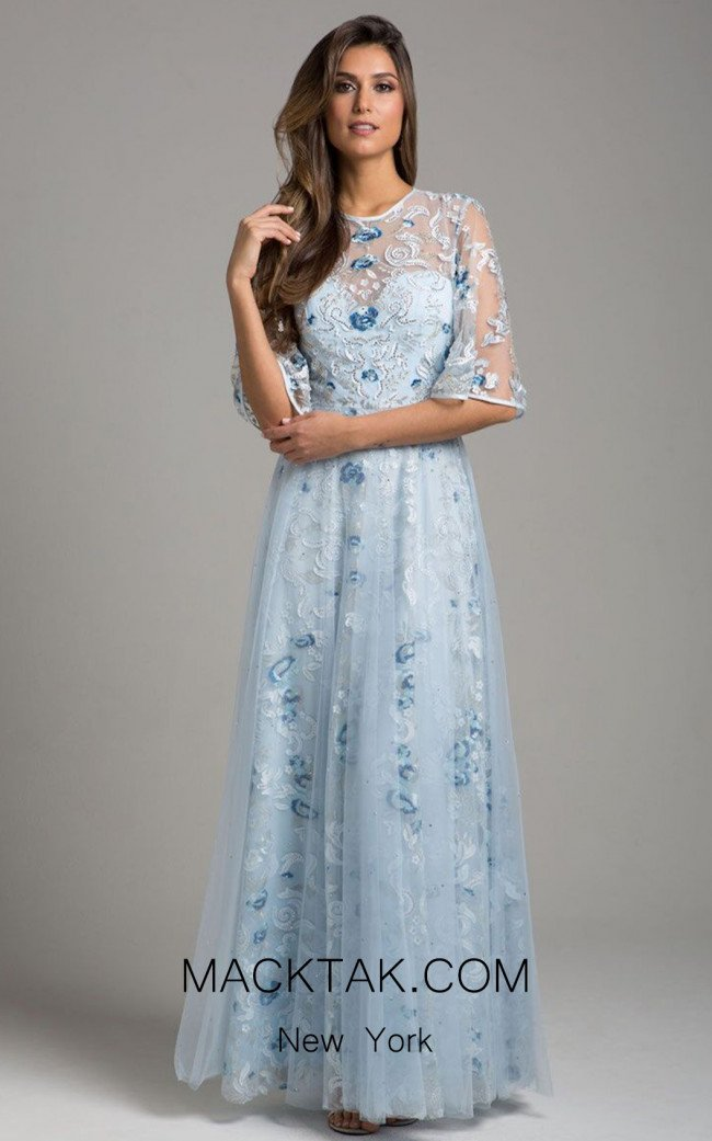 Lara 29967 Light Blue Front Dress