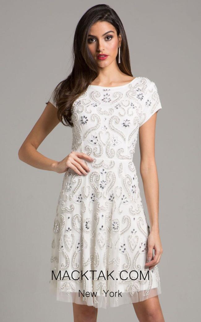 Lara 33404 Ivory Dress