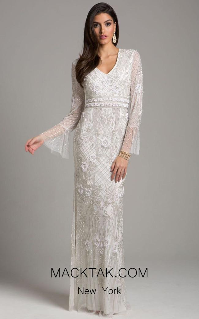 Lara 33435 Ivory Front Dress