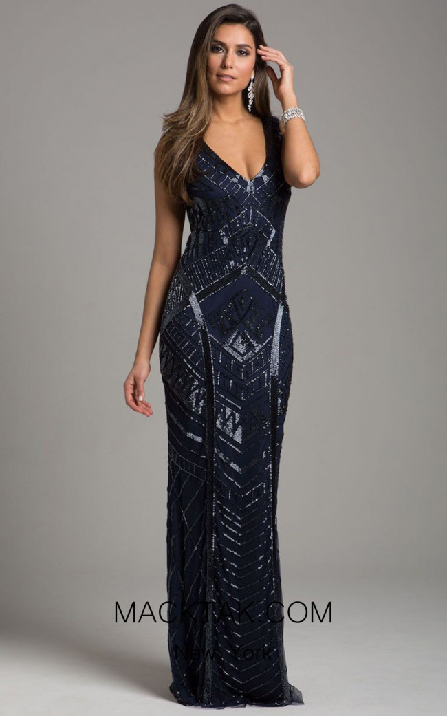 Lara 33552 Navy Dress