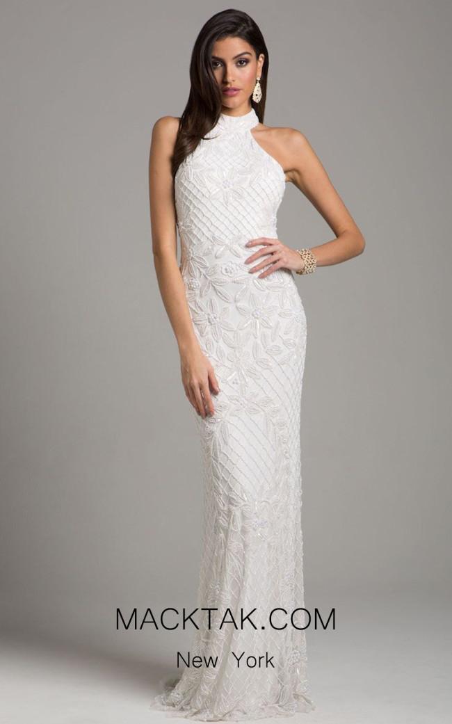 Lara 51003 Ivory Front Dress