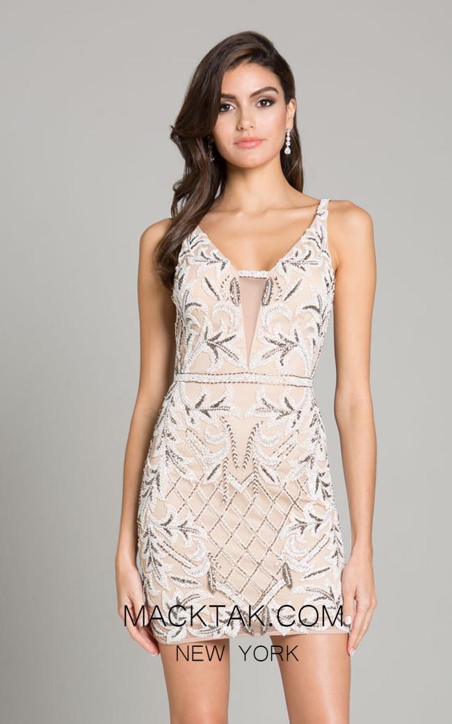 Lara 29837 Nude Front Dress