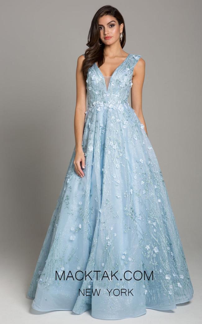 Lara 29866 Light Blue Front Dress