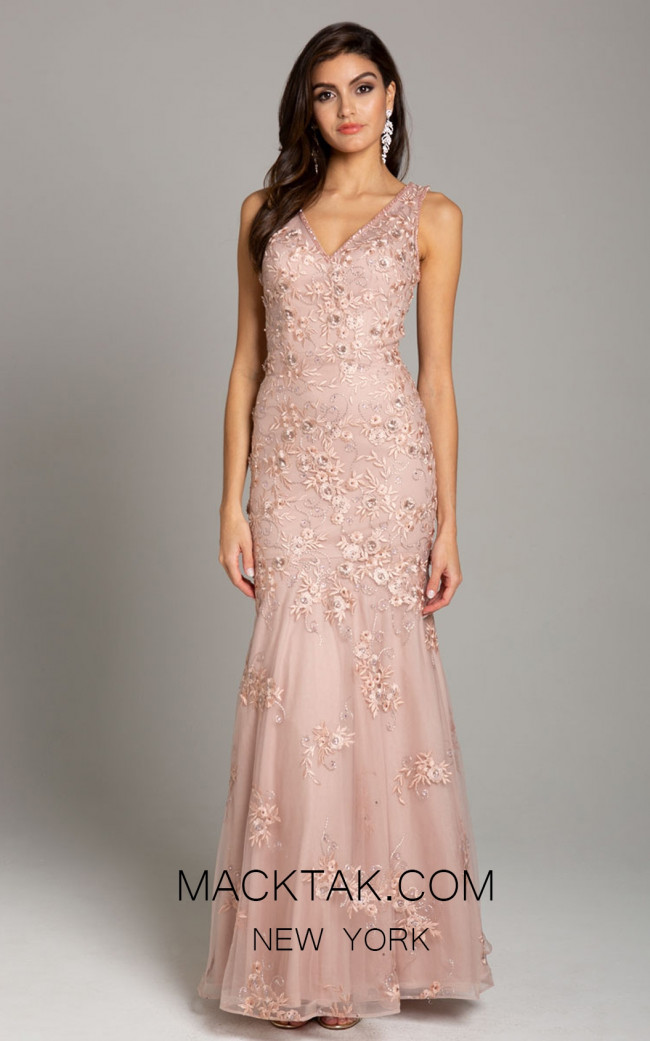 Lara 29869 Blush Front Dress