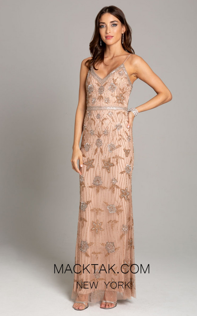 Lara 29894 Rose Gold Front Dress