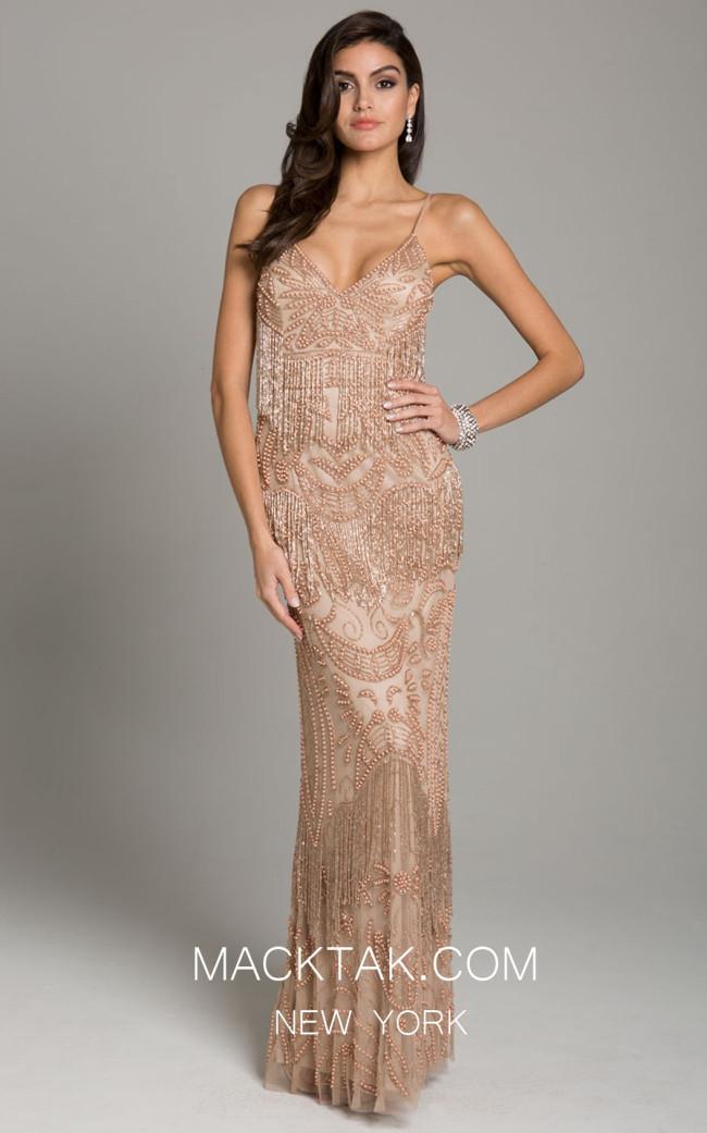 Lara 29897 Rose Gold Front Dress