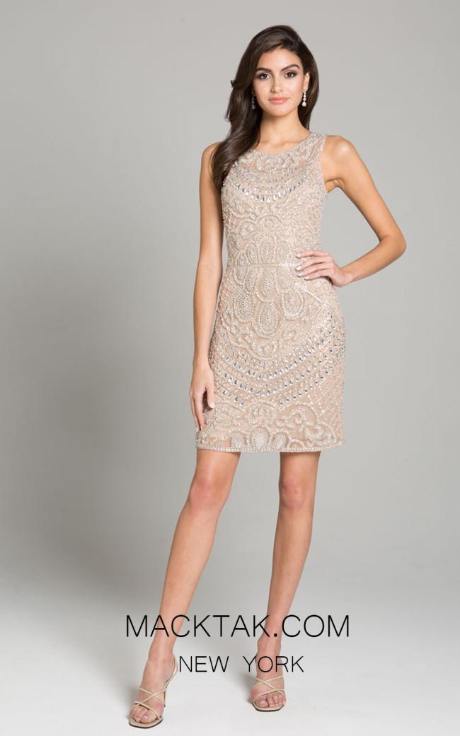 Lara 29915 Champagne Front Dress