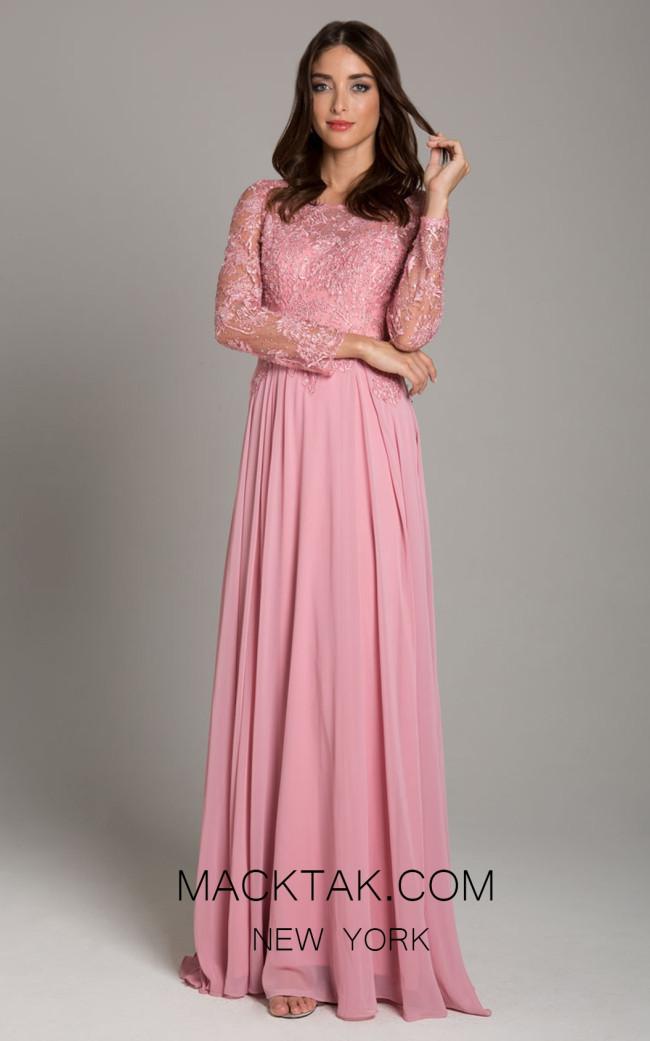 Lara 29920 Light Pink Front Dress