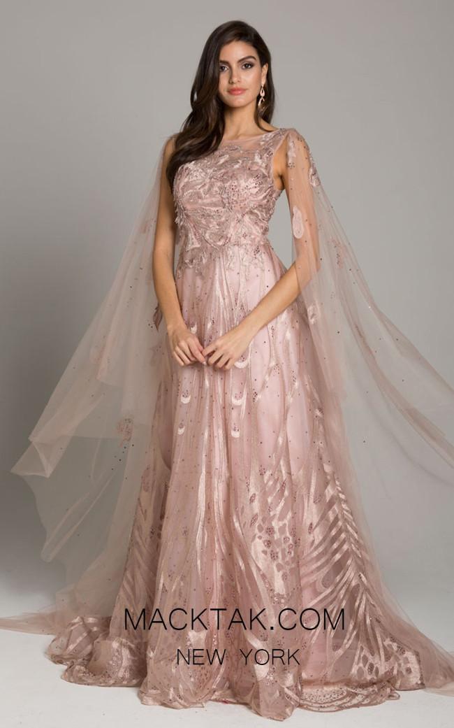 Lara 29942 Blush Front Dress