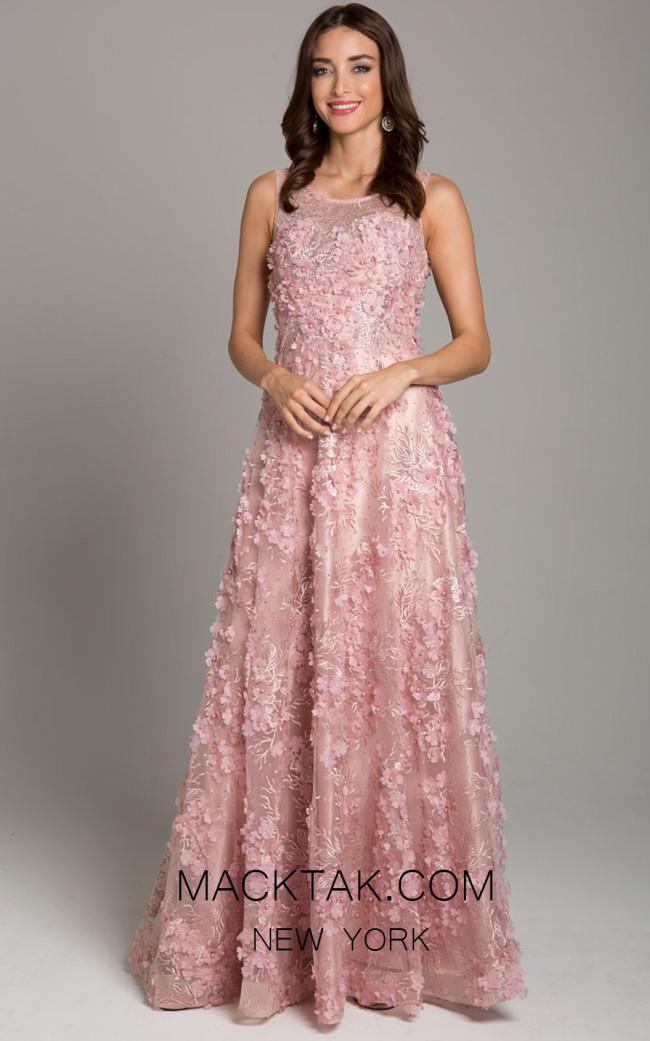 Lara 29943 Blush Front Dress