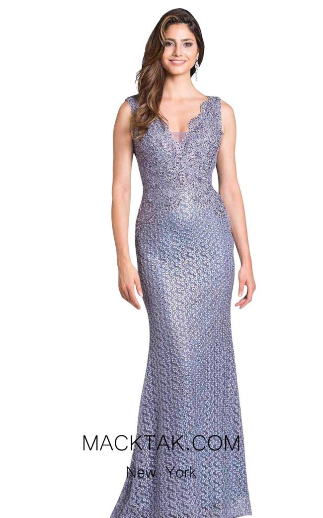 Lara 33279 Purple Front Dress