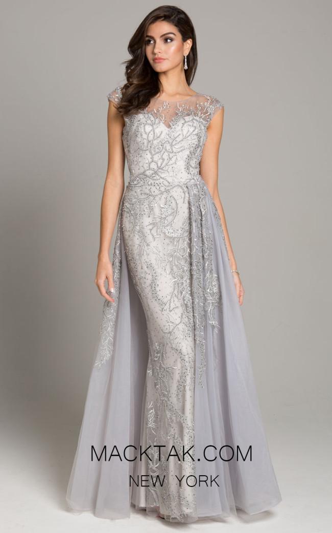 Lara 33621 Silver Front Dress