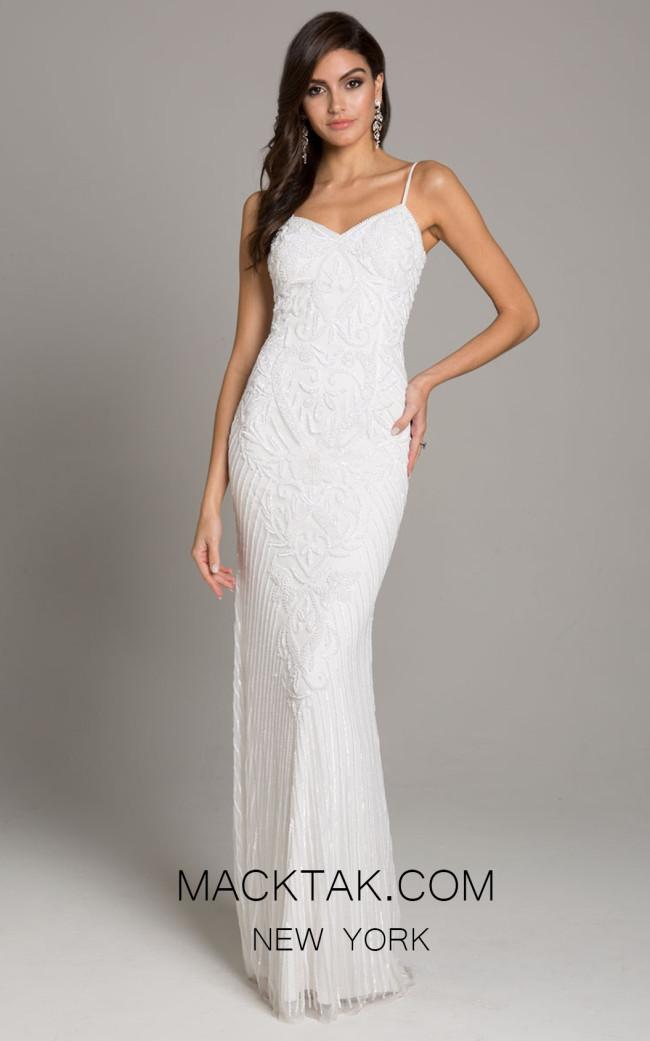 Lara 51005 White Front Dress