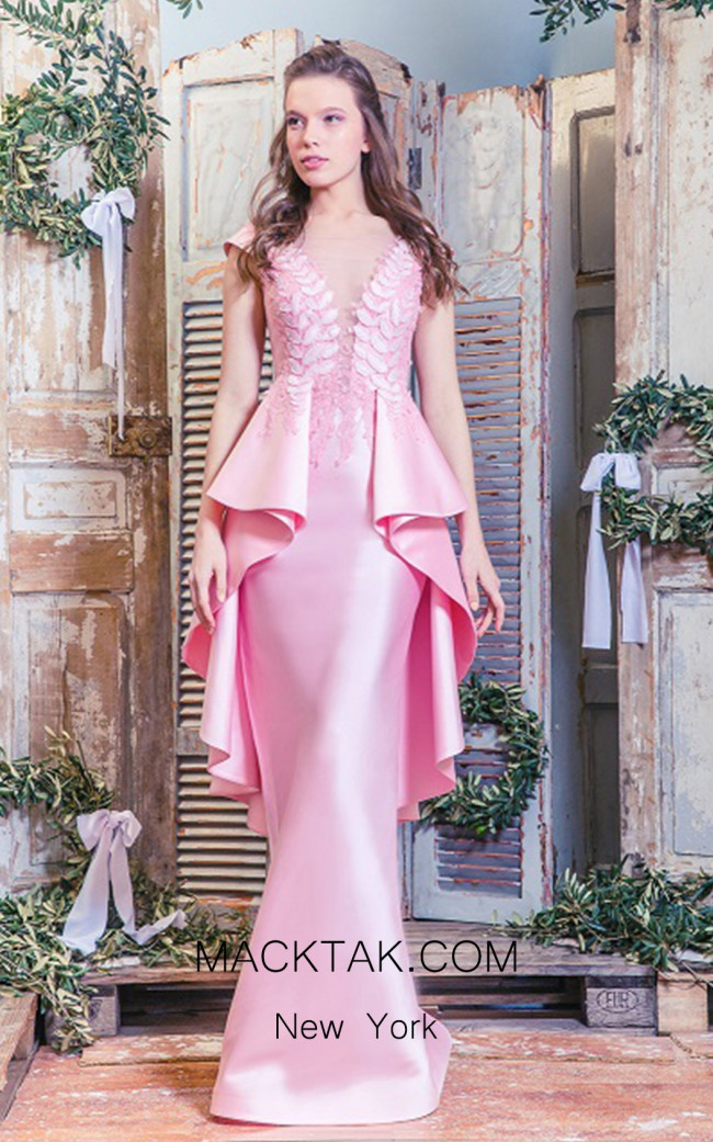 Missaki Couture MC3509 Pink Front