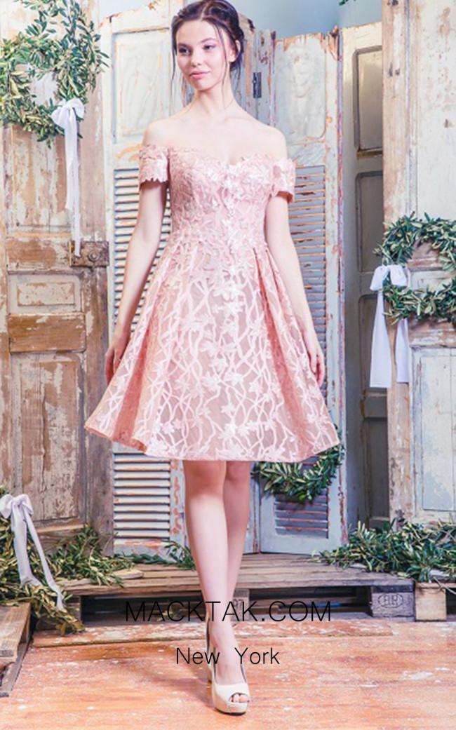 Missaki Couture 3515 Salmon Front