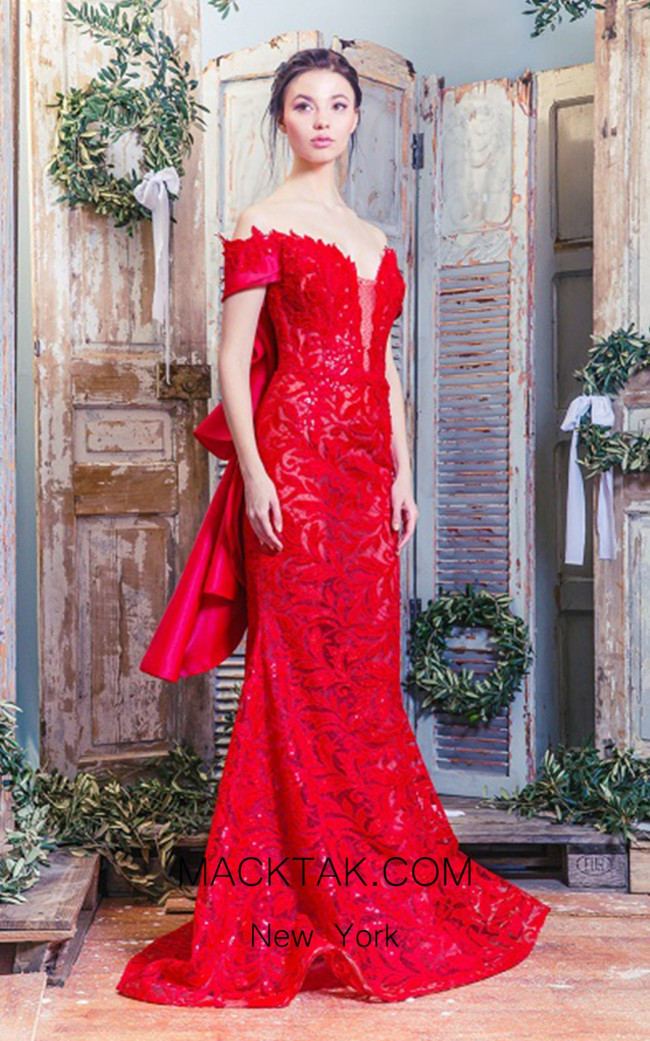 Missaki Couture MC3520 Red Front