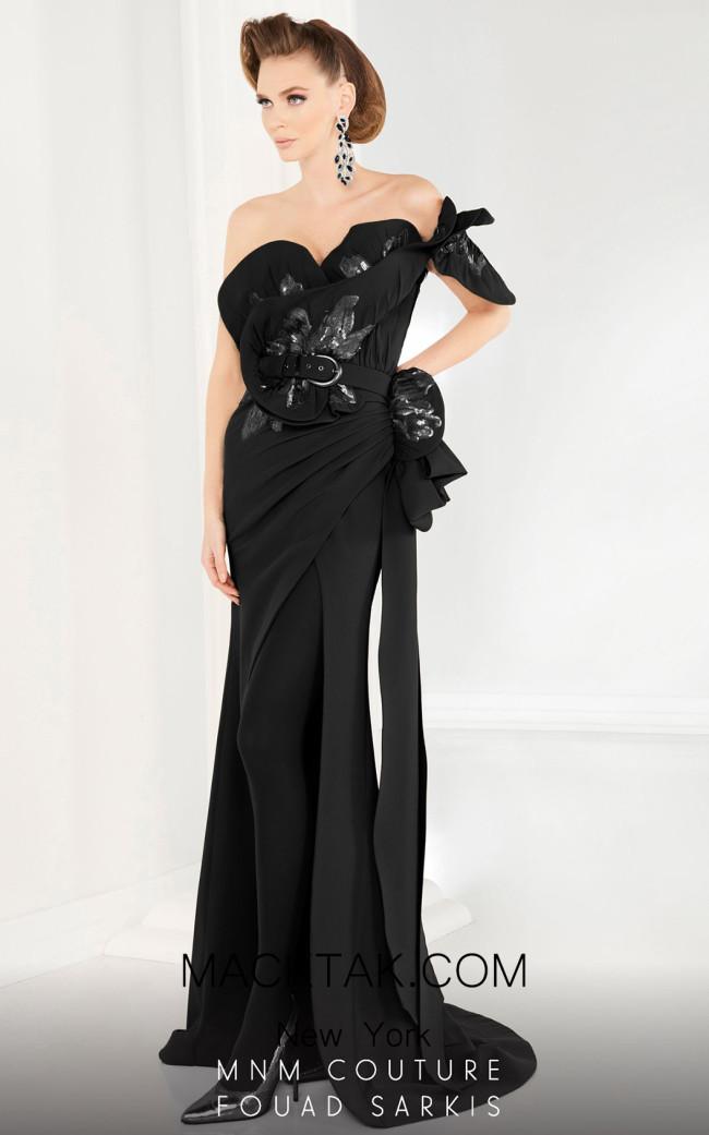 MNM 2579 Black Front Dress