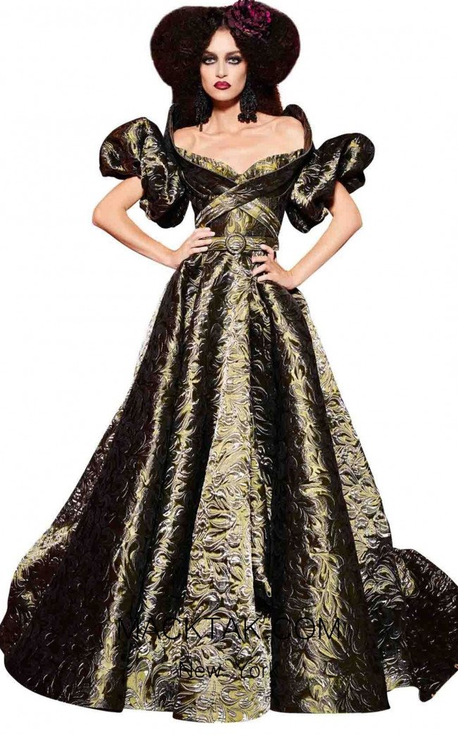 MNM Fouad Sarkis 2439 Olive Dress