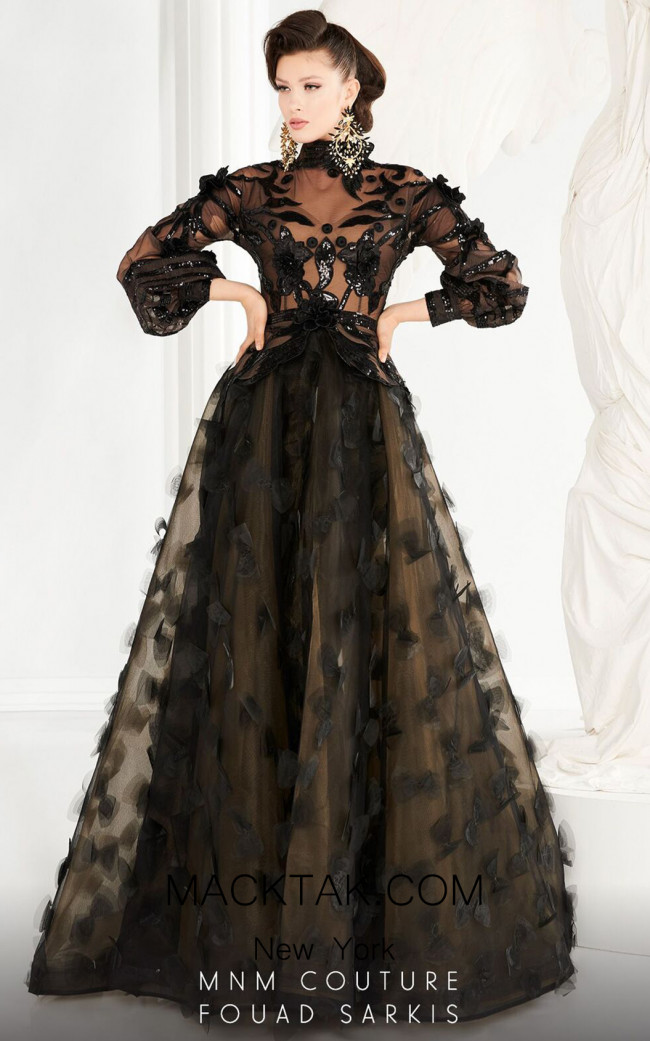 MNM Couture 2556 Front Dress