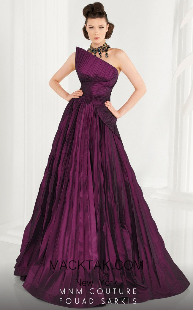 MNM Couture 2558 Front Dress