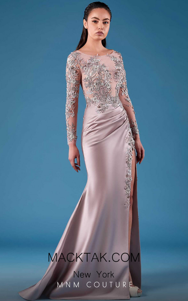 MNM Couture K3749 Front Dress
