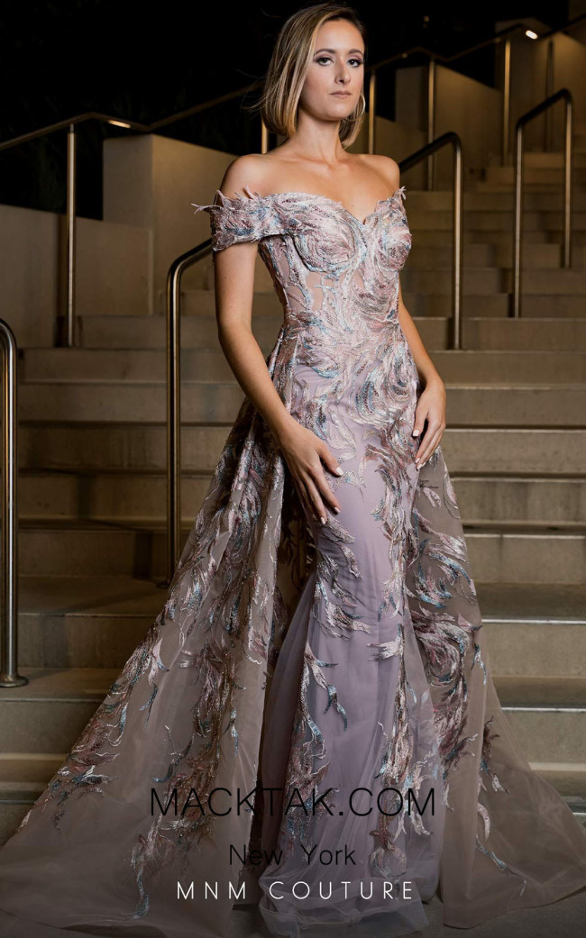 MNM Couture K3761 Front Dress