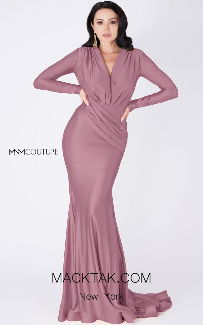 MNM Couture L0002A Lavender Front Dress