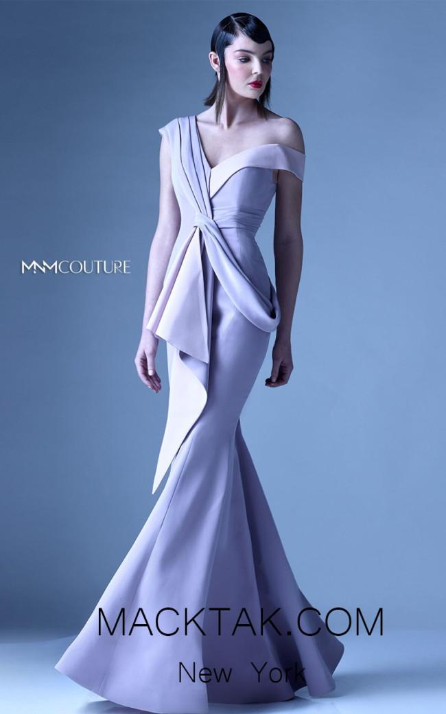 MNM G0947 Beige Front Evening Dress