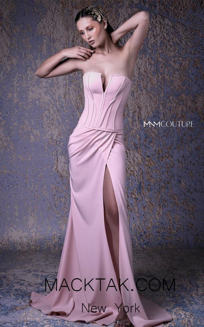 MNM G0982 Front Evening Dress