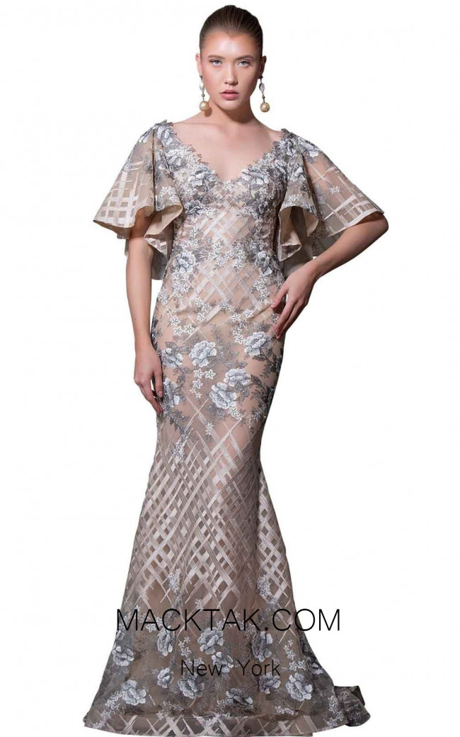 MNM Couture K3565 Front Dress