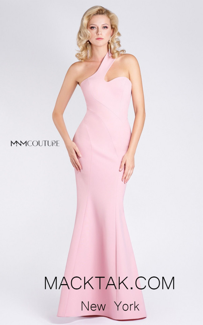 MNM M0003 Pink Front Evening Dress
