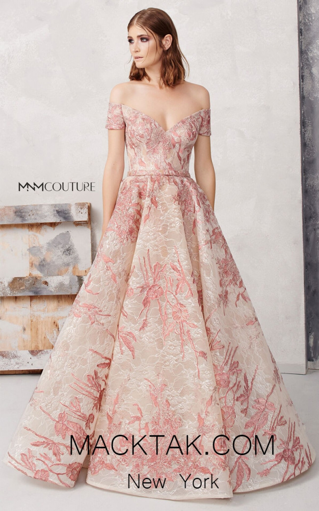 MNM N0277 Front Evening Dress