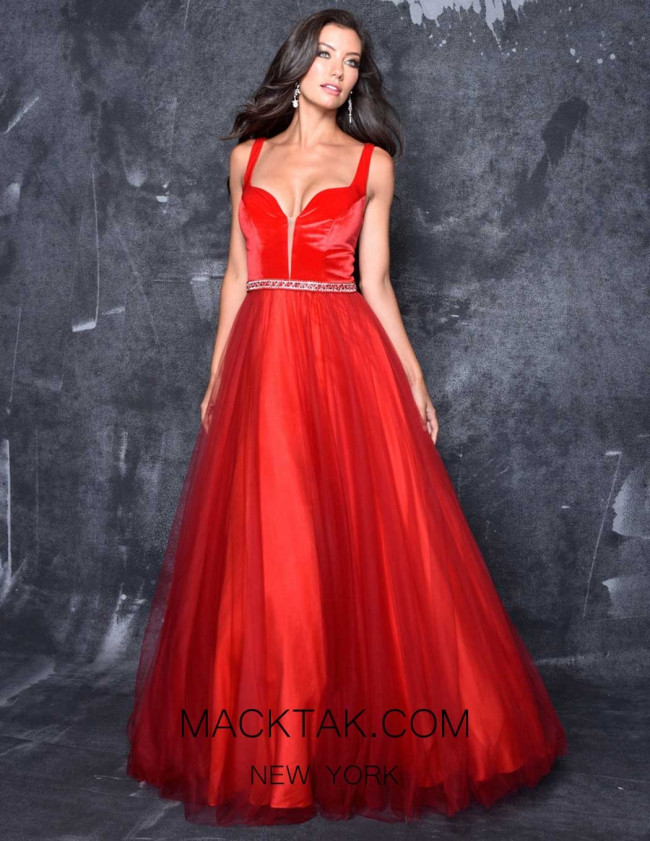 Nina Canacci 3127 Red Front