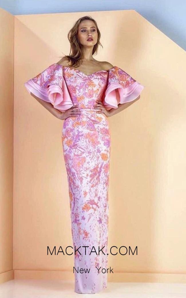 Edward Arsouni SS136 Front Evening Dress