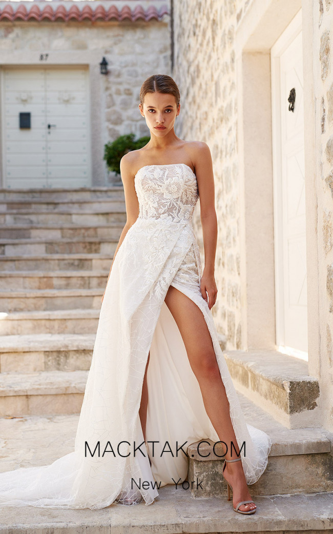 Pollardi Blair Front Dress