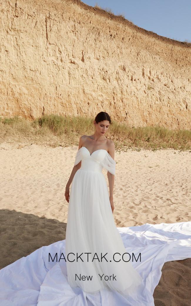 Pollardi Dune Front Dress