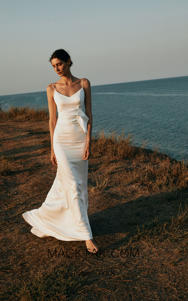 Pollardi Nacre Front Dress