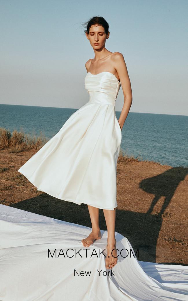 Pollardi Pearl Front Dress
