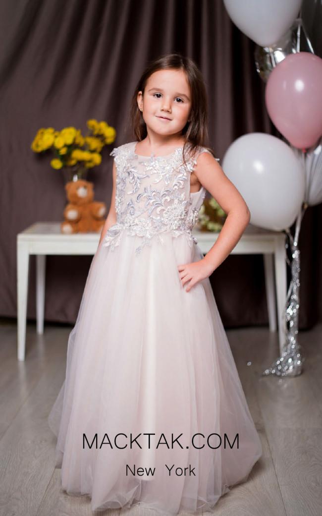 Pollardi 1022 Pink Nektar Front Dress