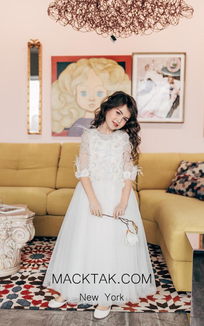 Pollardi 2012 Ivory Front Dress