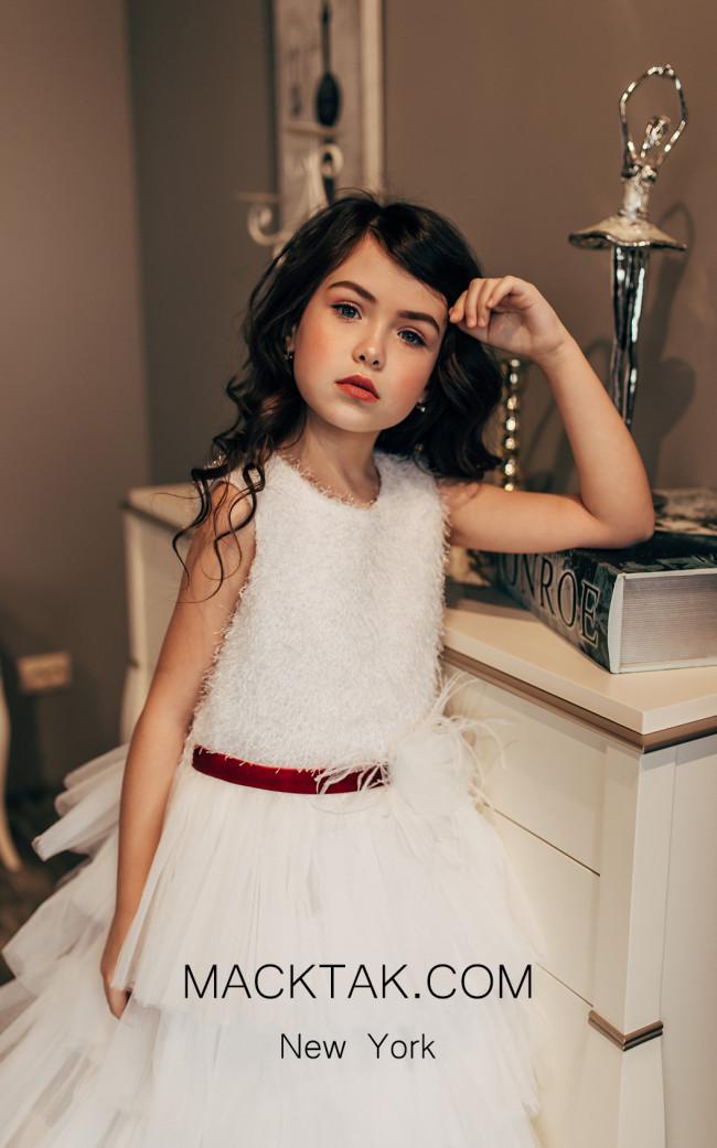 Pollardi 2013 Ivory Front Dress