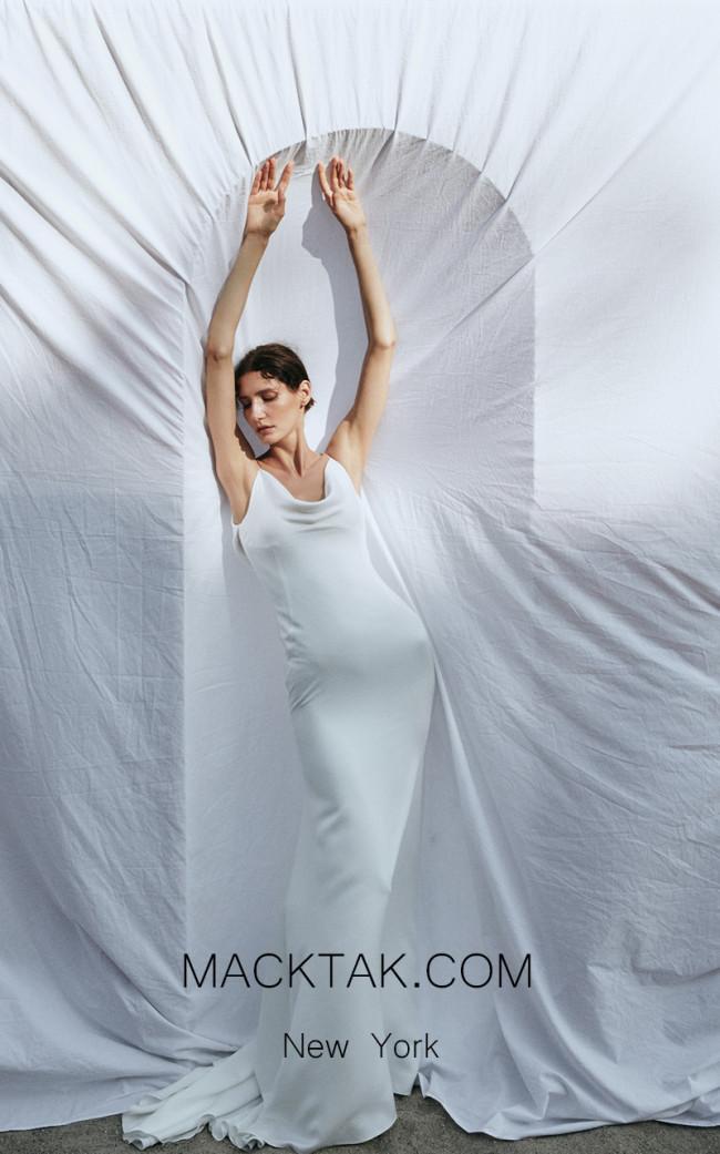 Pollardi Air Front Dress