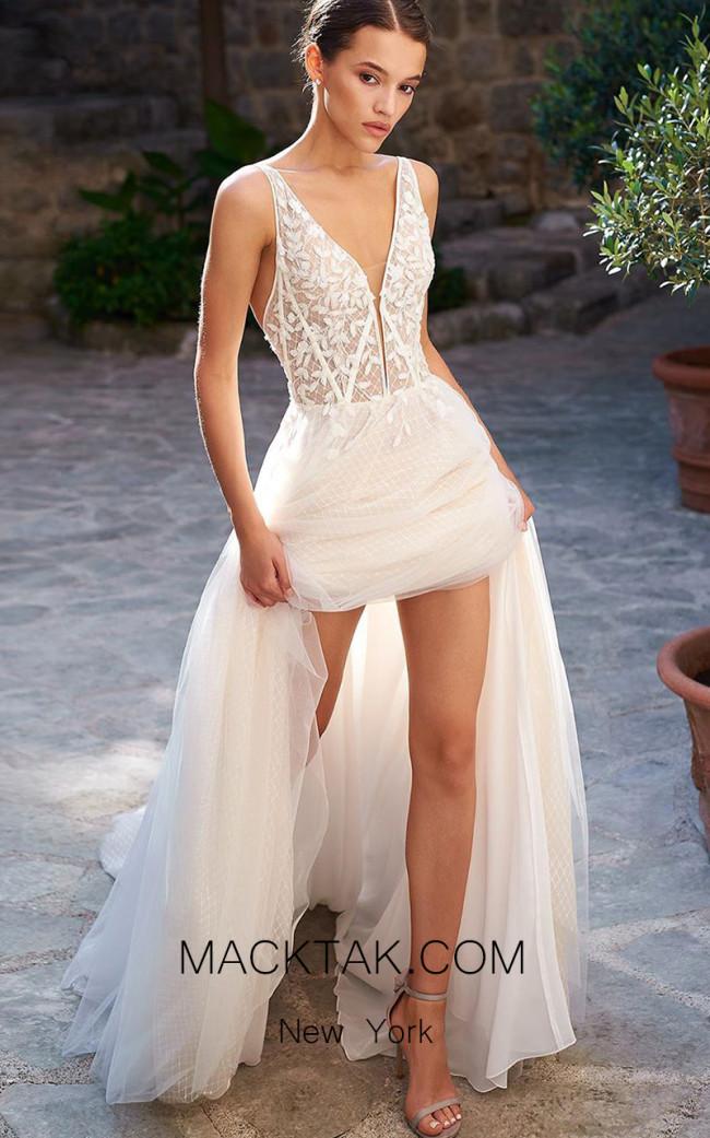 Pollardi Sade Front Dress