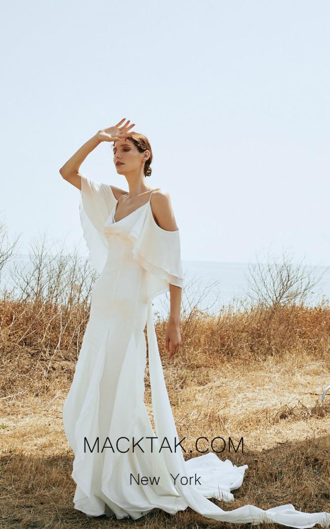 Pollardi Waves Front Dress