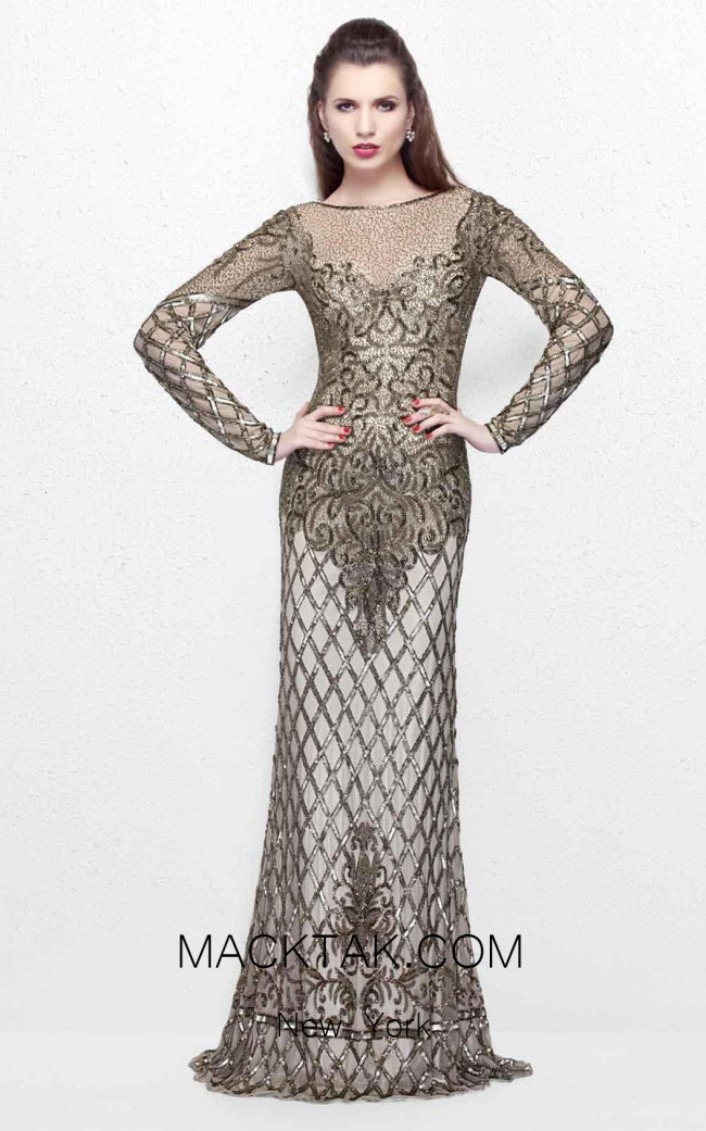 Primavera Couture 1720 Front Dress